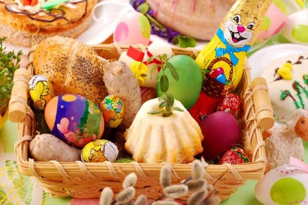Canasta para el Día de Pascua