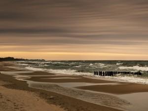 Postal: Mar y cielo