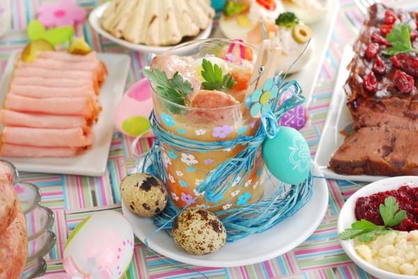 Ricos alimentos, para celebrar el Día de Pascua