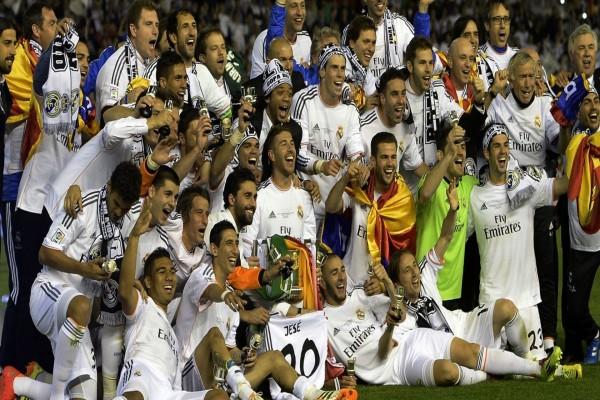 El Real Madrid: Ganador de la Copa del Rey 2014