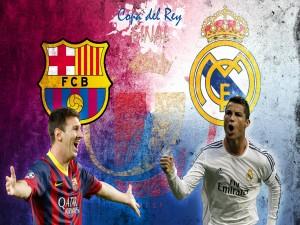 Postal: Final de la Copa del Rey 2014