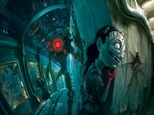 Postal: Bioshock visto por el dibujante Johnen Vasquez