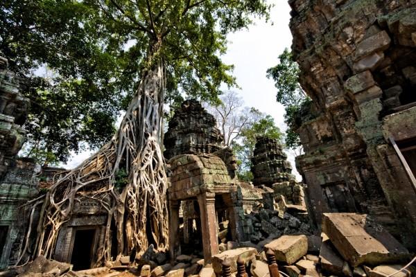Templo en ruinas