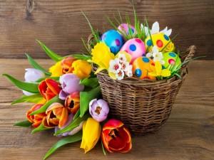 Postal: Feliz Día de Pascua