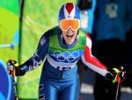 Esquiadora, en los Juegos Olímpicos de Invierno