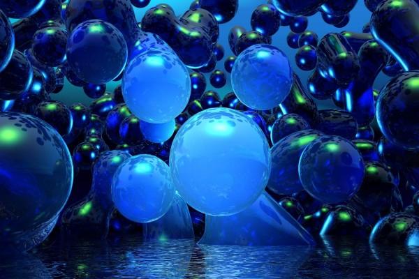 Grandes burbujas, caen al agua