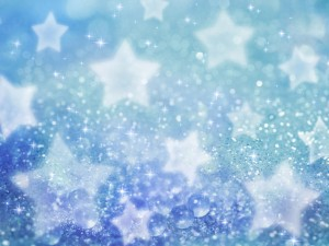 Postal: Estrellas brillantes