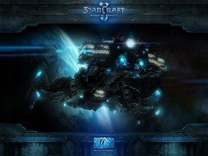 Postal: Nave de StarCraft II: Wings of Liberty