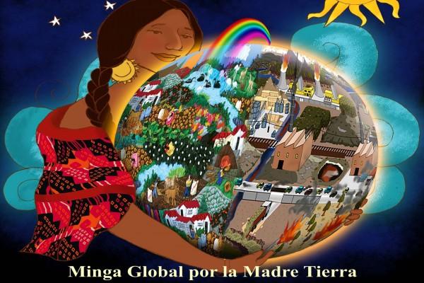 Minga Global por la Madre Tierra, 22 de abril