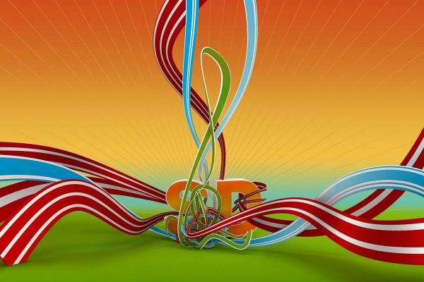 SD y cintas de colores