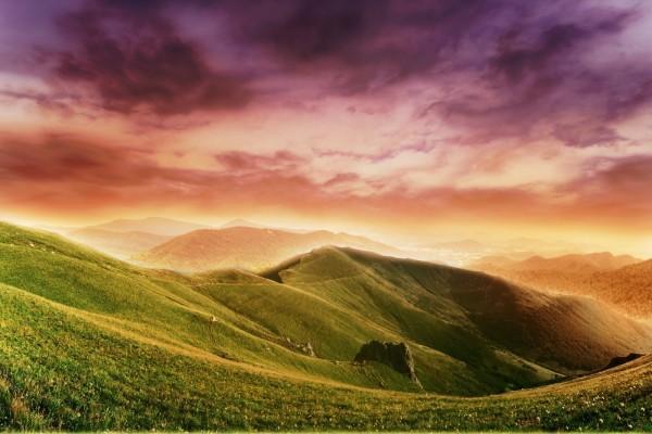 Bonitas vistas, desde la montaña