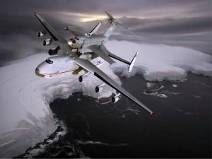 Volando sobre el hielo