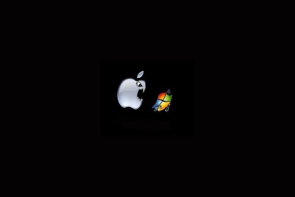 Apple enseñando los dientes a Windows