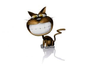 La dentadura del gato