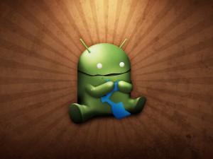 Postal: El robot de Android