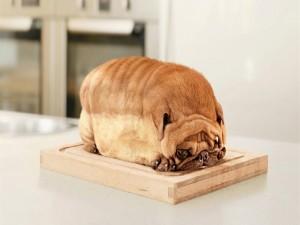 Postal: ¿Pan de molde o perro?