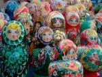 Muñecas rusas (matrioskas)