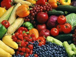 Postal: Frutas y verduras frescas
