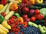 Frutas y verduras frescas