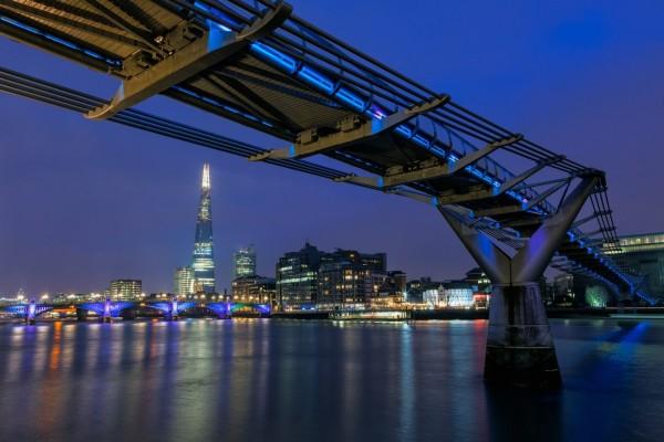 El puente del Milenio (Londres)