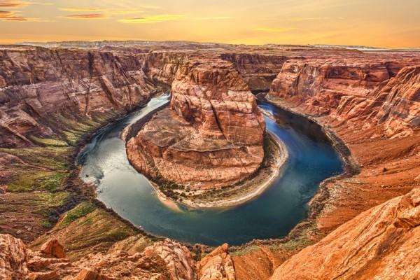 Curva de la Herradura, río Colorado