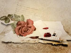 Postal: Cartas de amor