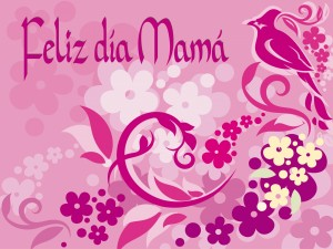 Postal: Feliz día mamá