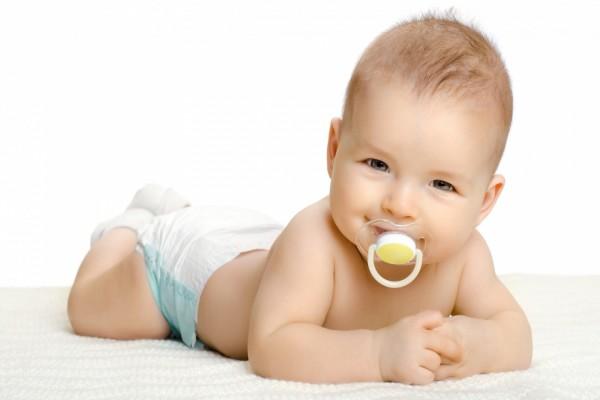 Un dulce bebé te observa