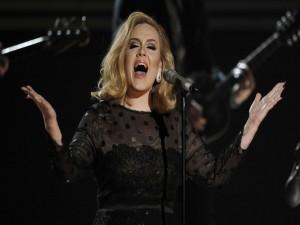Postal: Adele en concierto
