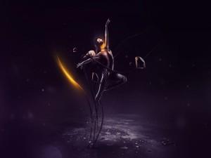 Danza en solitario