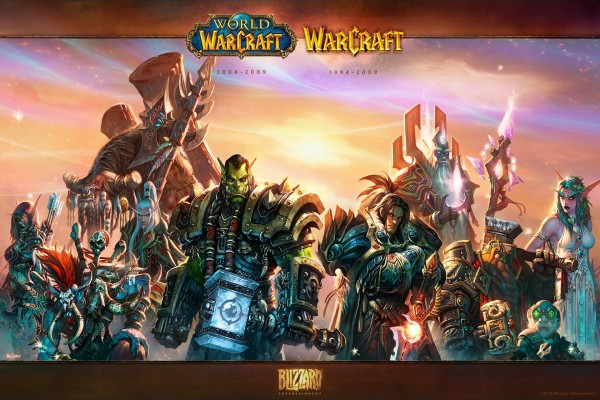 Personajes de World of Warcraft y Warcraft