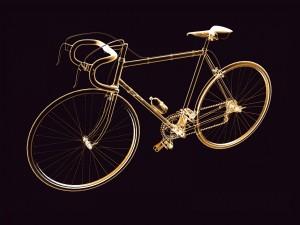 Postal: Bicicleta de carreras