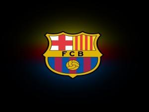 Postal: Escudo del Barcelona F.C.