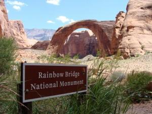 Postal: Monumento Nacional Puente del Arcoiris (Arizona)