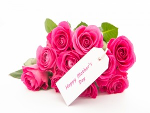 Ramo de rosas para: El Día de la Madre