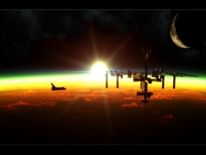 Postal: Imagen de la NASA