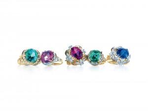 Postal: Cinco anillos