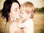 El beso de mamá