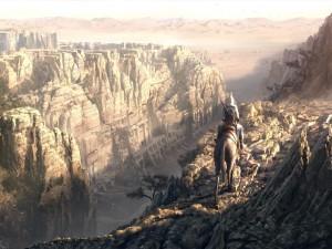 A caballo en las montañas, Assassin's Creed