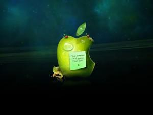 Postal: Piensa en Apple