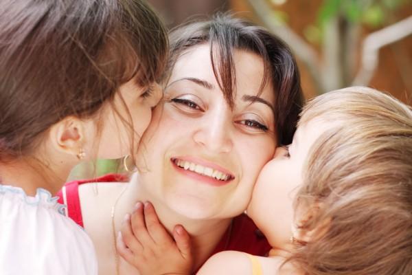 Besos a mamá, en el Día de la Madre