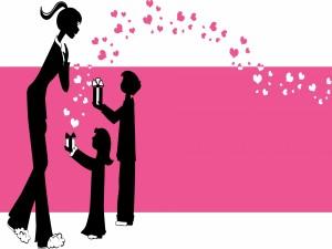 """Postal: Regalos para mamá """"Día de la Madre"""""""