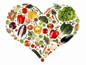 Postal: Verduras para cuidar tu corazón
