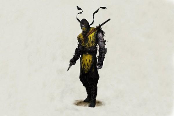 Scorpion, Mortal Kombat