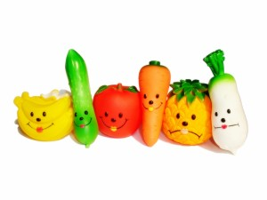 Divertidas frutas y verduras