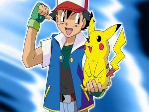 Ash Ketchum y Pikachu