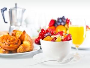 Postal: Un nutritivo desayuno