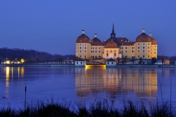 Castillo en Sajonia (Alemania)