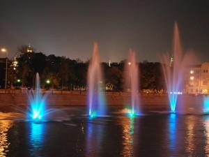 Noche de luces (Moscú)