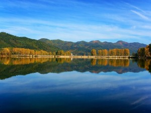 Postal: Las vistas desde el lago